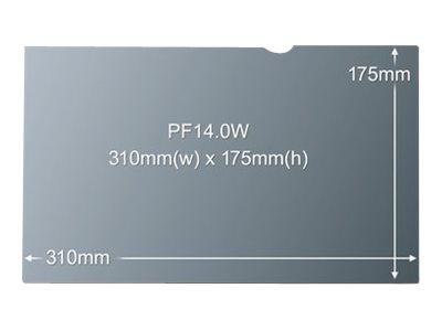 3M PF14.0W - Filtr pro zvýšení soukromí k notebooku - 14