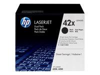 HP 42X Dual pack