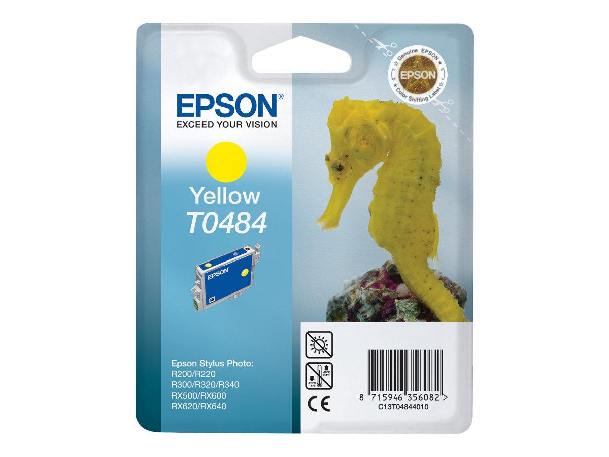 Epson T0484 - jaune - originale - cartouche d'encre