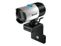 Microsoft LifeCam Studio Webkamera farve 1920 x 1080 audio USB 2.0