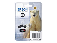 Epson 26 4.7 ml foto-sort original blister blækpatron