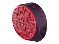 LOGITECH, X100 Mobile Speaker RED BT EMEA