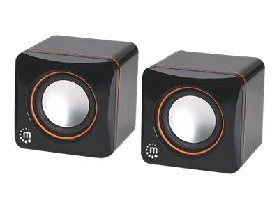 Manhattan 2600 Series Speaker System Speaker - for portable use - 6 Watt (total) - Speaker - for portable use - 6 Watt (total)
