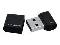 Kingston DataTraveler Micro - USB flash drive - 8 GB