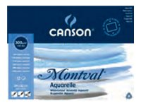 CANSON Montval - Cahier de dessin - 24 x 32 cm - 300 g/m² - 12 feuilles