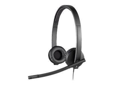 Logitech USB Headset H570e - hodesett 981-000575