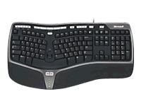 Microsoft Natural Ergonomic Keyboard 4000 - clavier - français