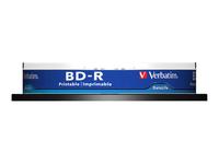 Verbatim DataLife - BD-R x 10 - 25 Go - support de stockage