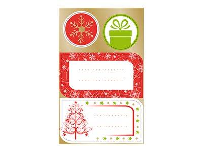 Clairefontaine Alliance Luminous Christmas - étiquette cadeau