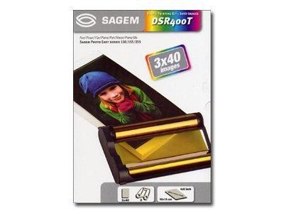 Sagem DSR400T - kit ruban d'impression / papier