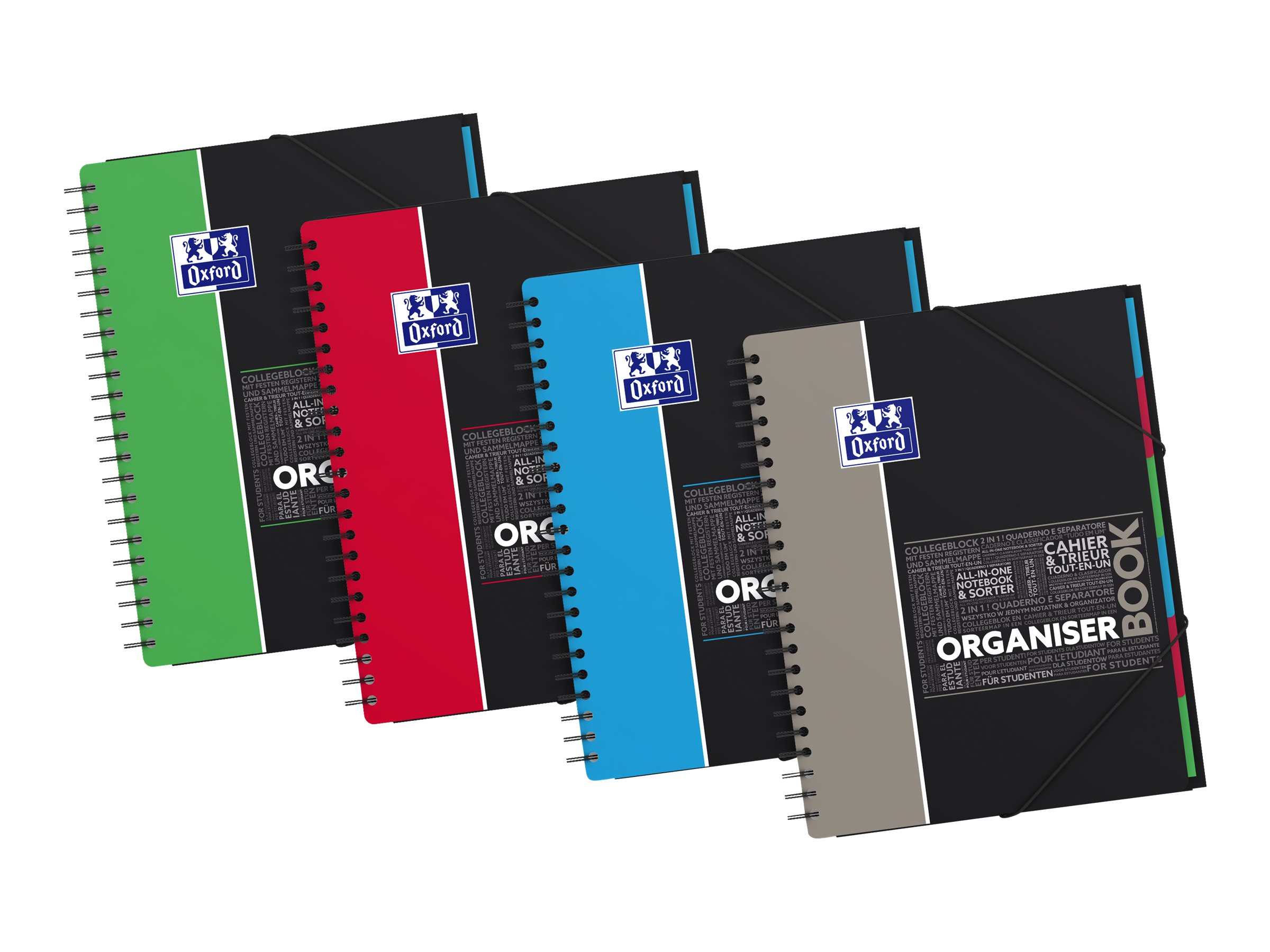 Oxford student organiserbook a4 cahier 21 x 29 7 160 pages grands carreaux cahiers - Cahier oxford office book ...