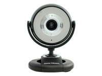 Gear Head Quick WebCam with Night Vision WC1300BLK