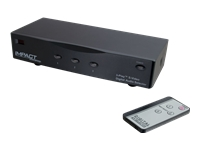 C2G 3-Play S-Video + Composite Video + TOSLINK Digital Audio High Performance Selector Switch