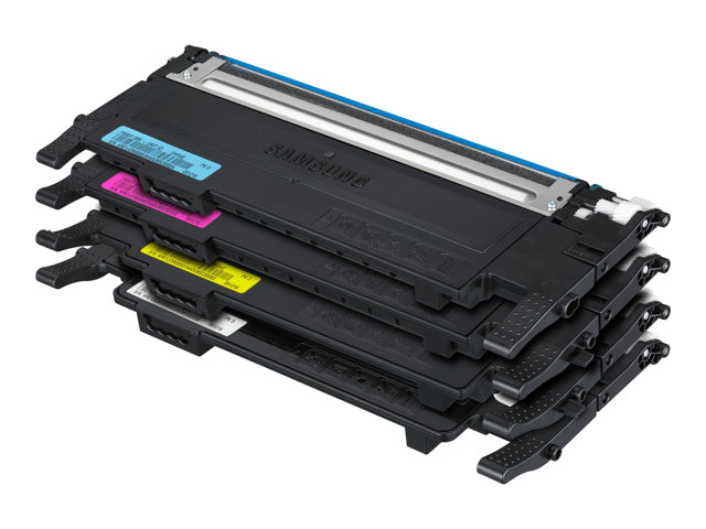 Printer Consumables Samsung CLT-P4072C Rainbow kit - 4-pack - black, yellow, cyan, magenta - original - toner cartridge