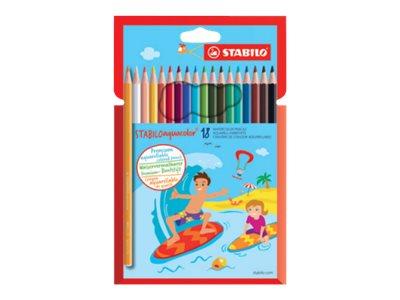 Stabilo aquacolor - crayon de couleur