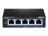 TRENDnet TEG-S50ES 5-Port Gigabit EdgeSmart Switch