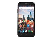 Archos 50 Helium Plus Téléphone intelligent Android double SIM 4G LTE 8 Go microSDXC fente GSM 5 1 280 x 720 pixels 293 ppi IPS 13 MP caméra avant 5 MP Android noir jet