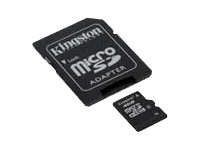 Mem Flash Micro SDHC 16Gb KIN Adap SD Class 10