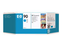 90 ink cyan 400ml 3 pack