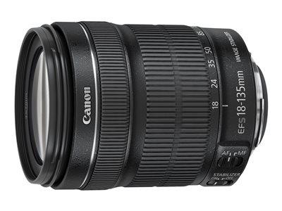 Canon EF-S - Zaostření objektivu - 18 mm - 135 mm - f/3.5-5.6 IS STM - Canon EF-S - pro EOS 1100, 60, 600, 650, 7D, Kiss X3, Kiss X5, Kiss X50, Rebel T3, Rebel T3i, Rebel T4i