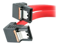 StarTech.com Right Angle Latching SATA Serial ATA Cable