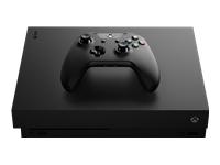 Microsoft Xbox One X Spilkonsol 4K HDR 1 TB HDD sort