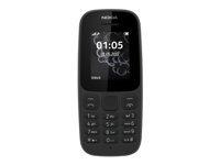 Nokia 105 Mobiltelefon dual-SIM GSM 160 x 120 pixler RAM 4 MB