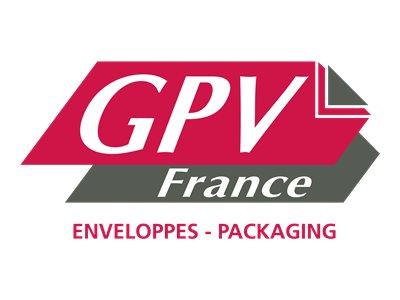 GPV ÉCONOMIQUE - 500 Enveloppes blanches - 110 x 220 mm - autocollantes (sans bande) - 1 fenêtre