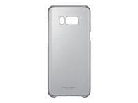 Samsung Clear Cover EF-QG955 Bagomslag til mobiltelefon sort