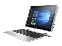 "HP x2 10-p010nr - With detachable keyboard - Atom x5 Z8350 / 1.44 GHz - Win 10 Home 64-bit - 2 GB RAM - 32 GB eMMC - 10.1"" IPS touchscreen 1280 x 800 - HD Graphics 400 - 802.11ac, Bluetooth - HP finish in natural silver - kbd: US"