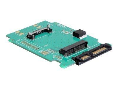 DeLOCK Converter SATA 22 pin > mSATA - Řadič úložiště - 1.8