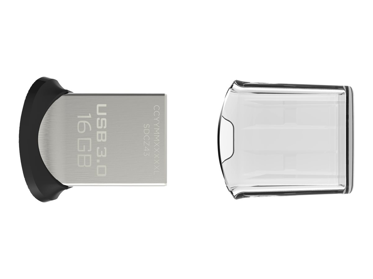 SANDISK ULTRA FIT - UNIDAD FLASH <SPAN STYLE=