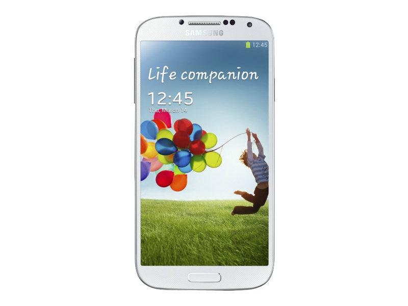 Samsung Galaxy S4 - GT-I9515 - blanc - 4G LTE - 16 Go - GSM - smartphone