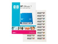 HP - STORAGE SUPPLY (7A) BTO HP Ultrium 1 Bar Code Label PackQ2001A