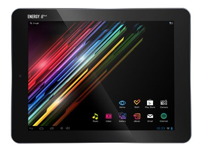 "Energy Tablet i8 Dual 16 GB 8"" Android 4.1microSD - Wi-Fi - plateado"