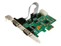 StarTech.com Cartes PEX2S553S