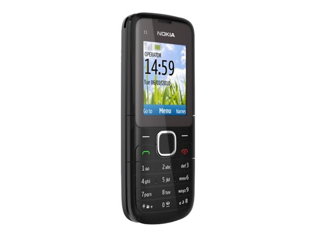 002V3G3 - Nokia C1-01 - mobile phone - GSM - Currys PC ...