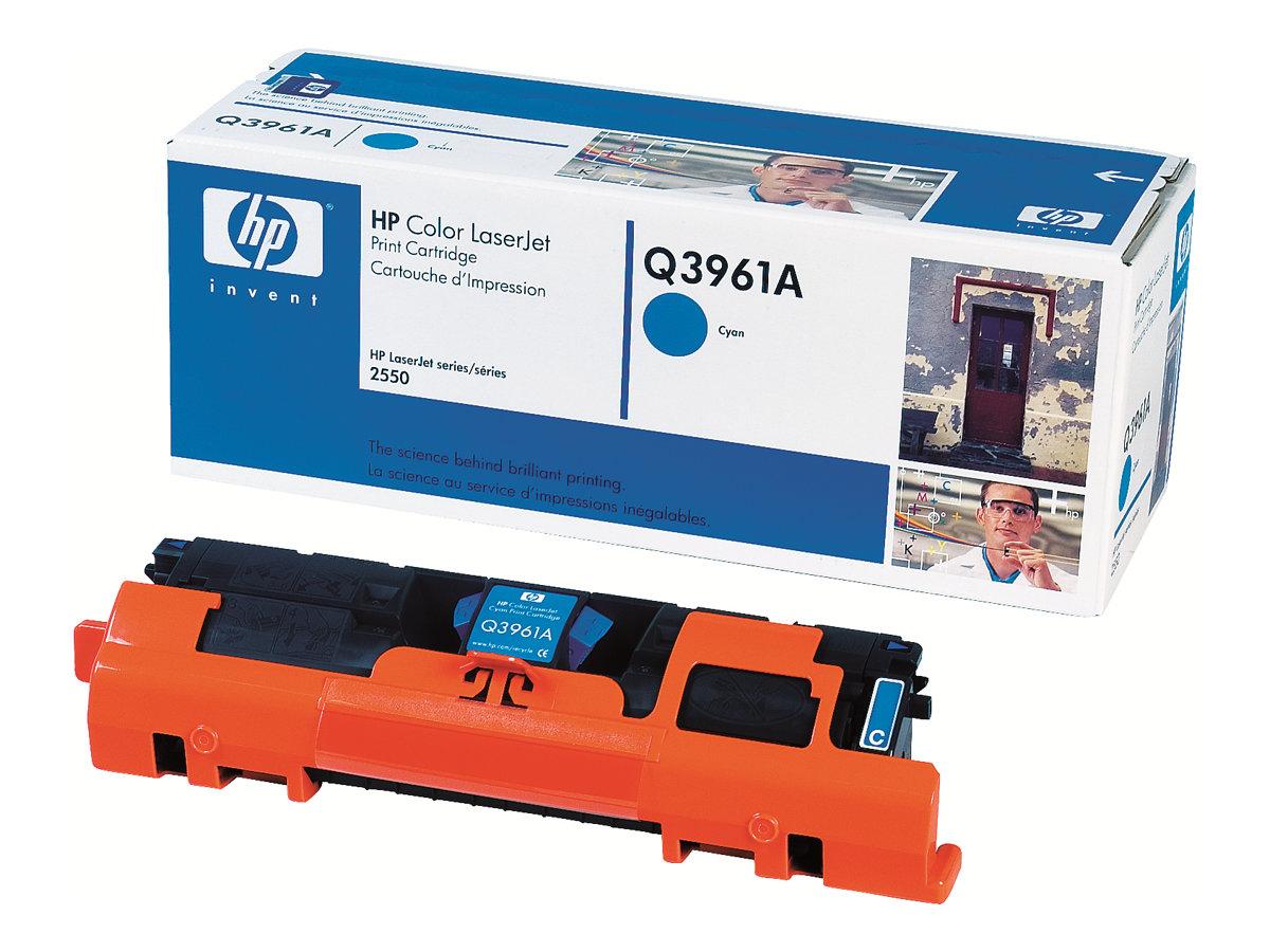 HP 122A - cyan - originale - LaserJet - cartouche de toner (Q3961A)