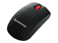 Lenovo - Mouse - laser - wireless - 2.4 GHz - USB wireless receiver - for 300e Chromebook (2nd Gen); IdeaCentre A340-22; A340-24; ThinkCentre M715q (2nd Gen)