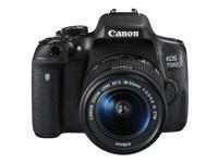 Canon EOS 750D - appareil photo numérique objectif EF-S 18-55 mm IS STM