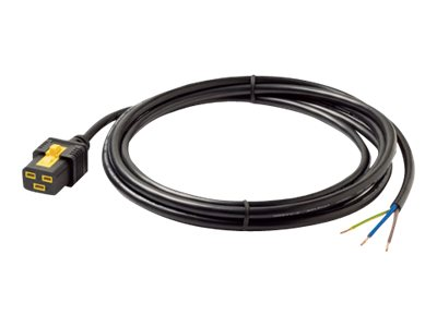 APC Power Cord Locking C19 to Rewireable 3.0m