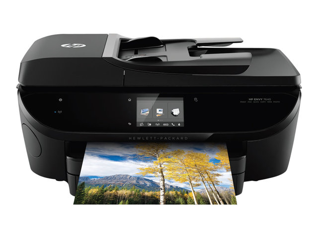 Image of HP Envy 7640 e-All-in-One - multifunction printer ( colour )