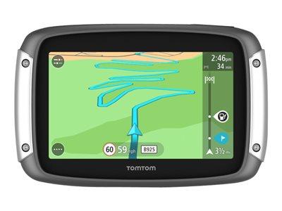 TomTom RIDER 400 - Premium Pack - GPS navigace - motockyl 4.3 palec širokoúhlá obrazovka