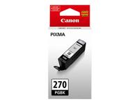 Canon PGI-270PGBK - Black - original - ink tank - for PIXMA MG5720, MG5721, MG5722, MG6821, MG6822, MG7720, TS5020, TS6020, TS8020, TS9020
