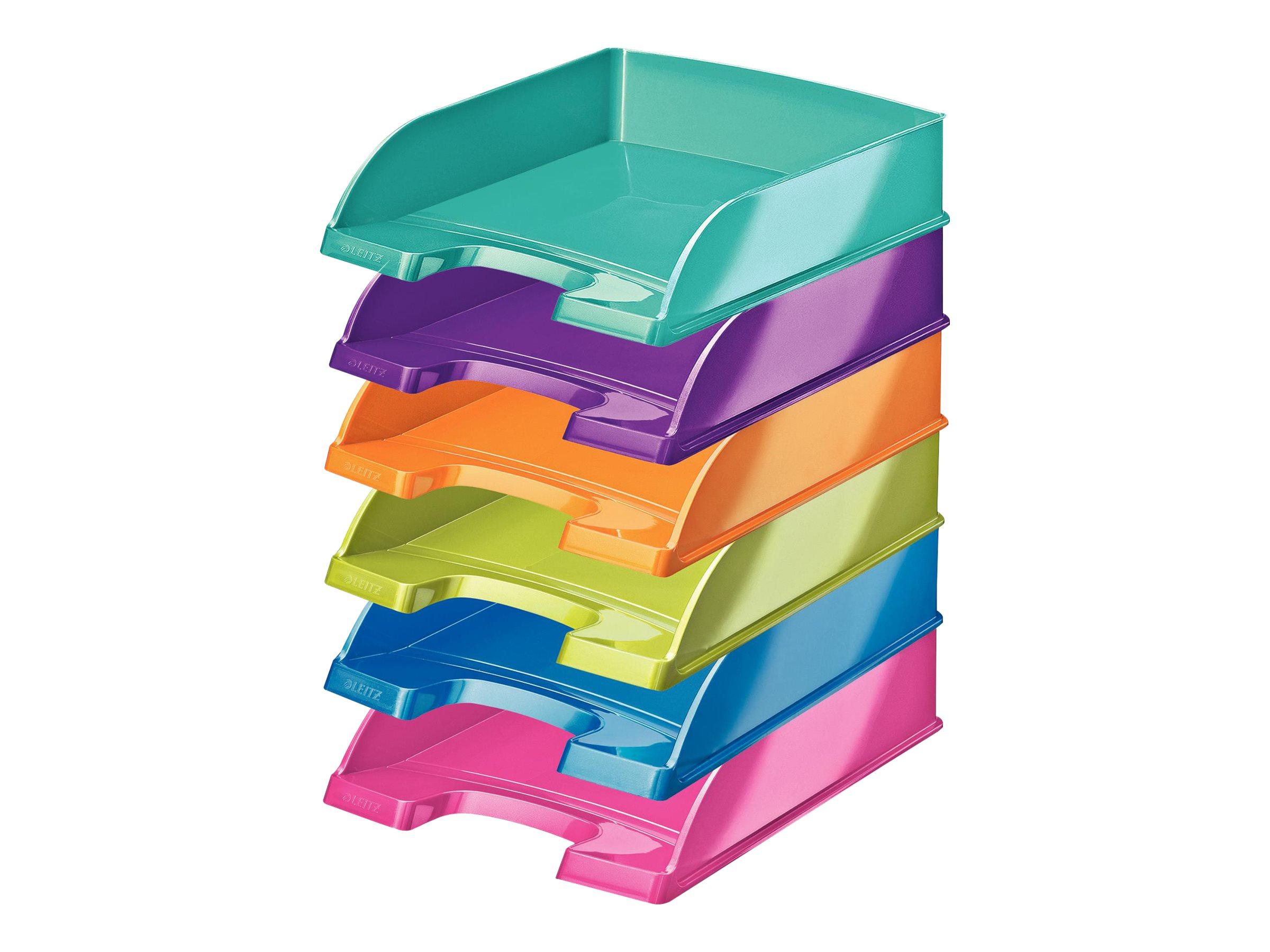 Leitz WOW - Corbeille à courrier - A4 - disponible dans différentes couleurs