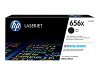 HP 656X - High Yield - black - original - LaserJet - toner cartridge (CF460X) - for Color LaserJet Enterprise M652dn, M652n, M653dh, M653dn, M653x