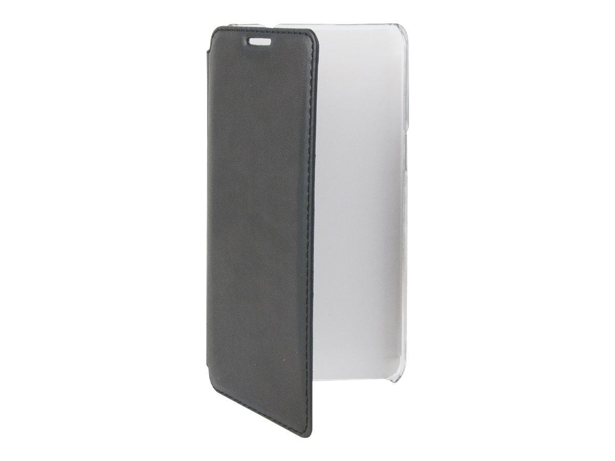 Muvit Made in Paris Crystal Folio - Protection à rabat pour Samsung Galaxy Grand Prime - noir
