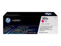 HP CE413A 305A Magenta LaserJet Toner Cartridge - 2600 pages
