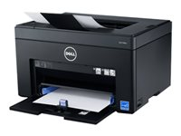 Dell Color Printer C1760nw - Printer - color - LED - A4/Legal - 600 dpi - up to 15 ppm (mono) / up to 12 ppm (color) - capacity: 150 sheets - USB, LAN, Wi-Fi(n)