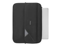 """Targus Clamshell Laptop Case Bæretaske til notebook 16"""" sort"""